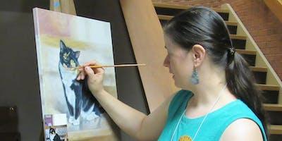 Meet Pet Portrait Artist, ShawnaLee!