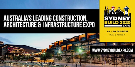 Sydney Build Expo 2020 - Free Conference & Summits tickets