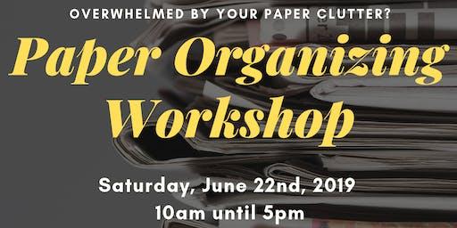 Paper Organizing Workshop