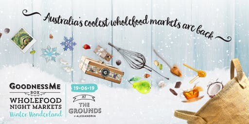 GoodnessMe Box Winter Wonderland Wholefood Night Markets