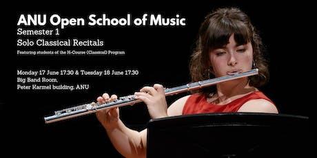 Semester 1 Solo Classical Recitals 17 & 18 June tickets