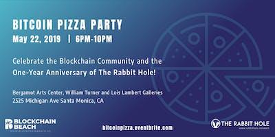 Bitcoin Pizza Party hosted by The Rabbit Hole & Blockchain Beach!