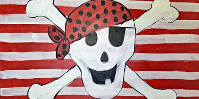 Kid's Camp Pirate Flag Tues July 2nd 10am-Noon $25
