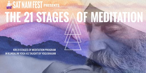 21 Stages of Meditation at Sat Nam Fest Berkshires