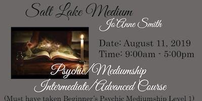 PSYCHIC/MEDIUMSHIP INTERMEDIATE/ADVANCED COURSE WITH SALT LAKE MEDIUM, JO'ANNE SMITH