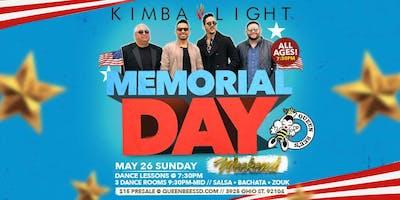 Kimba Light: Memorial Day Weekend 5/26/19