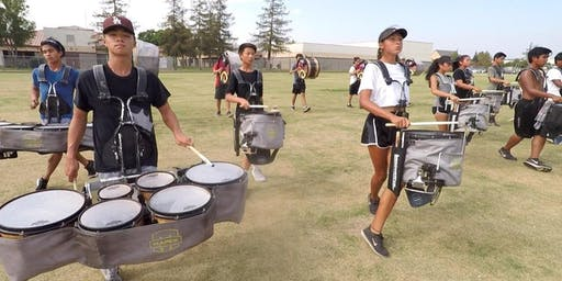 Canyon Hills Jr. High School Drumline Workshop