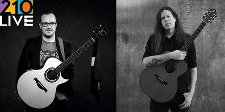 Candyrat Guitar Night: Antoine Dufour & Adrian Bellue at 210 Live tickets