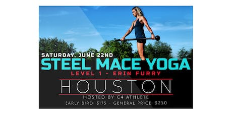 Steel Mace Yoga Level 1 Workshop | Houston tickets