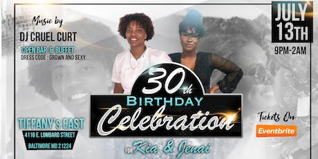 Kia & Jenai's 30th Birthday Celerbration tickets