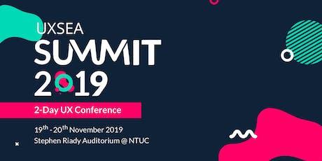 UXSEA Summit 2019 - 2-Days-Conference tickets