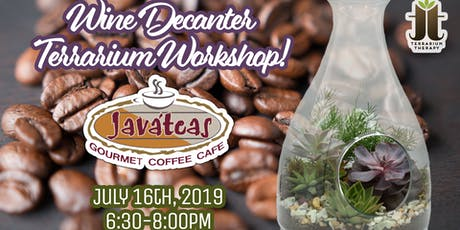Wine Decanter Workshop At Javateas at Donecker's tickets