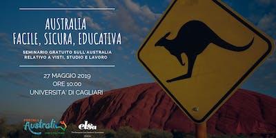 Australia: Facile, Sicura, Educativa. | Seminario Gratuito