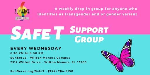 Safe T - Transgender and or Gender Variant Support Group (weekly)
