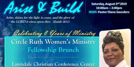 Circle Ruth Women's Ministry - Fellowship Brunch tickets