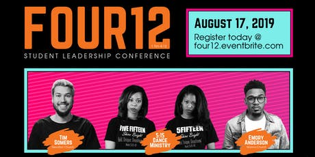 Four12 Student Leadership Conference 2019 tickets