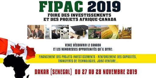 Foire des Investissements et des Projets Afrique-Canada (FIPAC 2019)