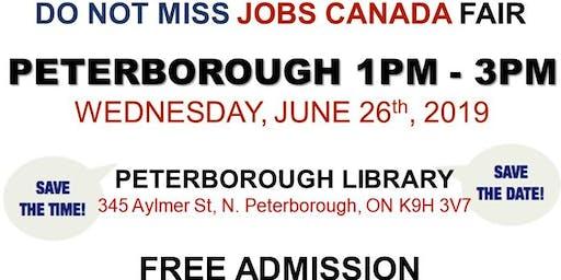 Free: Peterborough Job Fair - June 26th, 2019