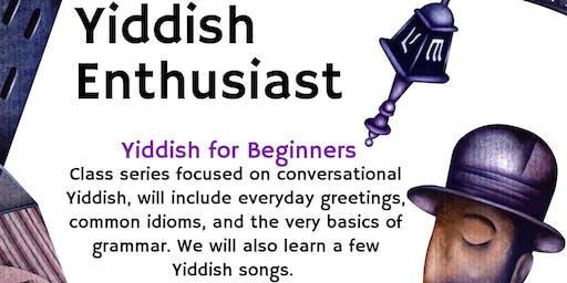 Yiddish for Beginners Classes - Oceanside/Vista
