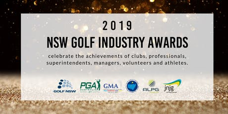 2019 NSW Golf Industry Awards Night tickets