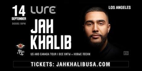 Jah Khalib Concert in Los Angeles | Jah Khalib в Лос-Анджелесе tickets