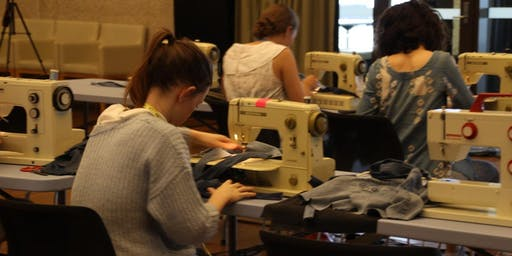DIY Tote Bag + Sewing Machine Induction
