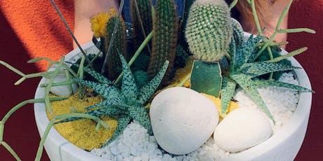 Cacti + Succulents Centerpiece tickets