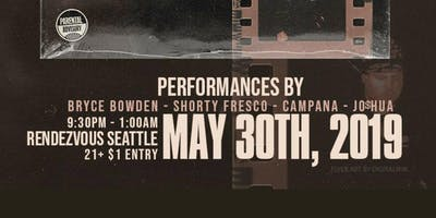 """BRYCE BOWDEN """"SHORT MOVIES"""" ALBUM RELEASE PARTY"""