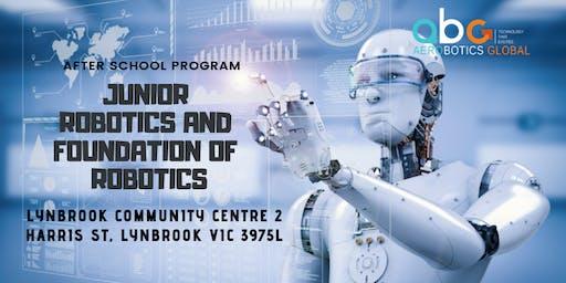 Junior Robotics and Foundation of Robotics - After School Program