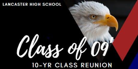 LNHS Class of 2009 Reunion  tickets