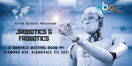 Jrobotics & Frobotics - After School Program tickets