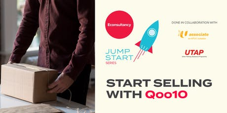 Jumpstart Series: Econsultancy's Start Selling on Qoo10 tickets