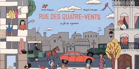Jeune public lecture animée : rue des Quatre-Vents   billets