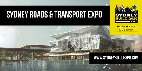 SYDNEY TRANSPORT & ROADS - Part of Sydney Build Expo tickets