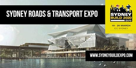 SYDNEY TRANSPORT & ROADS - Part of Sydney Build Expo tickets