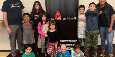 Copy of Camp We Empower : Mini Series  Gr. K-7 1 time  session