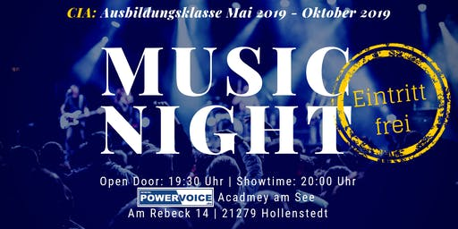 7. MUSIC NIGHT: CIA