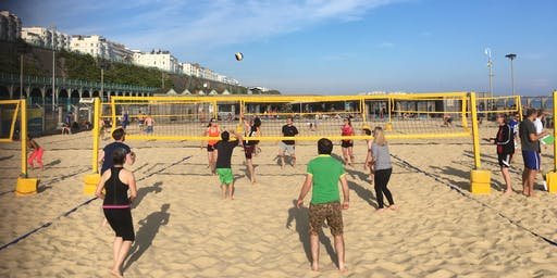 University of Sussex Staff Summer Volleyball Tournament