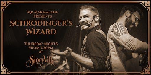 Mr Marmalade & StoryVille present Schrodinger's Wizard