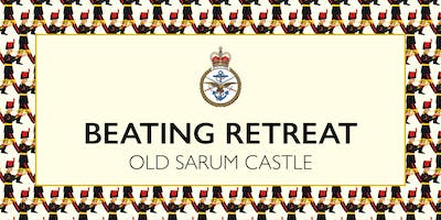 Beating Retreat at Old Sarum Castle