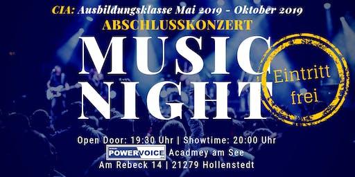 13. MUSIC NIGHT: CIA - ABSCHLUSSKONZERT