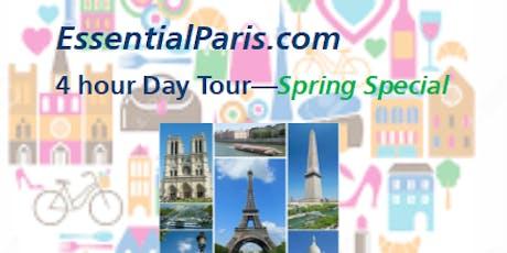 4 Hour Paris Highlights Tour - Spring Special billets