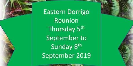 Eastern Dorrigo Reunion 2019 tickets
