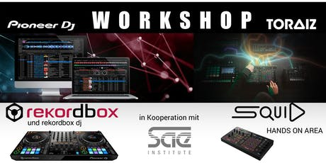 Kostenloser rekordbox & TORAIZ Workshop Tickets