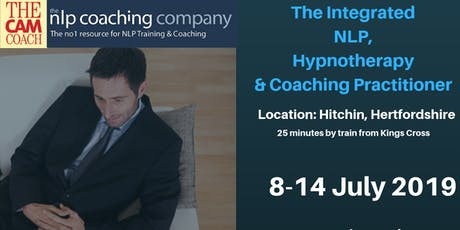 Integrated NLP, Clinical Hypnotherapy and Life Coaching Practitioner Diplom tickets