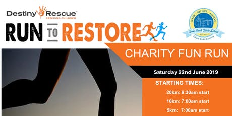 Destiny Rescue & Emu Creek Fun Run tickets