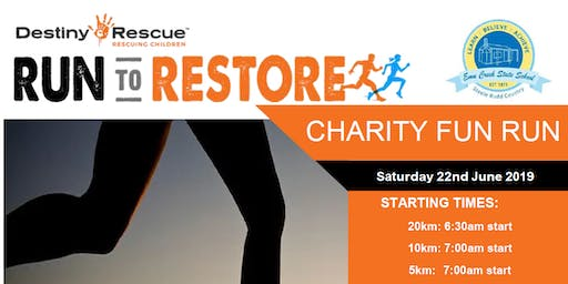 Destiny Rescue & Emu Creek Fun Run