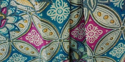 Crafternoon: Batik Cushion Covers