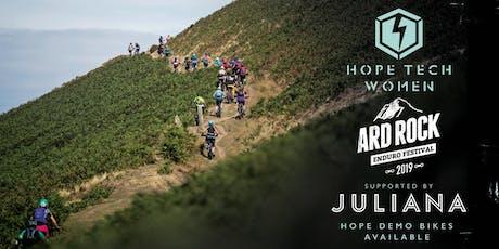 Ard Rock Hopetech Women ride supported by Juliana tickets
