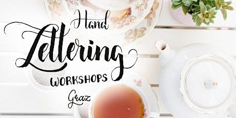 Brush Lettering und Tee - für Anfänger in Graz Tickets